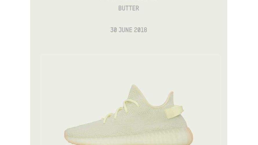 抽選結果 undefeated YEEZY BOOST 350 V2 Butter