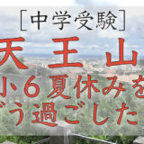 中学受験の『天王山』小6の夏休みをどう過ごした?いつもの夏休みと大きく変わらない過ごし方とは?